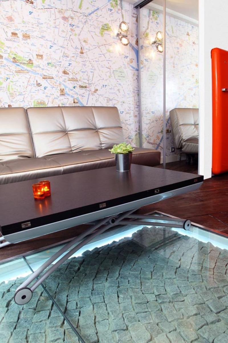appartement de petite surface dans le marais parisien carlos designer. Black Bedroom Furniture Sets. Home Design Ideas
