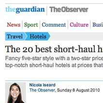 The Guardian the 20 best short-haul hotels : 8 - Le dormeur du Val ****